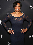 "Lisa Renee Pitts attends the Broadway Production of  ""Sweat"" at studio 54 Theatre on March 26, 2017 in New York City"