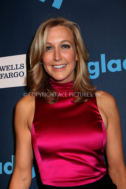 WWW.ACEPIXS.COM....March 16 2013, New York City....Lara Spencer arriving at the 24th annual GLAAD Media awards at The New York Marriott Marquis on March 16, 2013 in New York City.....By Line: Nancy Rivera/ACE Pictures......ACE Pictures, Inc...tel: 646 769 0430..Email: info@acepixs.com..www.acepixs.com