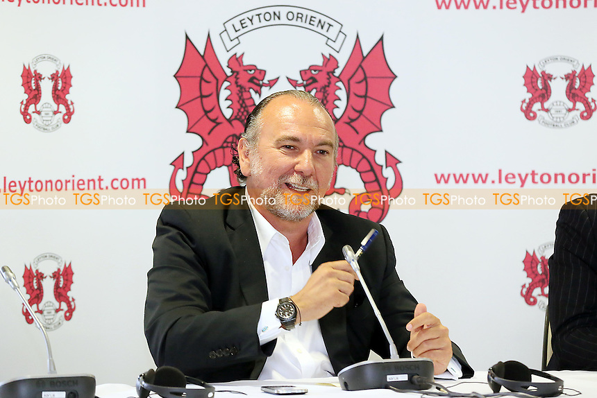 Leyton Orient FC Press Conference - <br />