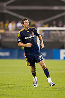 26 SEPTEMBAR 2009: #21 Alan Gordon of the LA Galaxy  during the Los Angeles Galaxy at Columbus Crew MLS game in Columbus, Ohio on May 27, 2009.