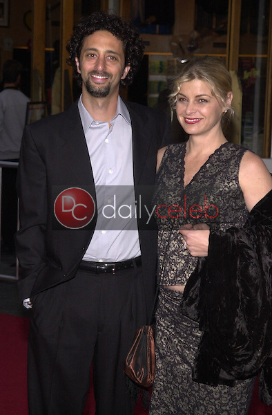 Grant Heslov and wife