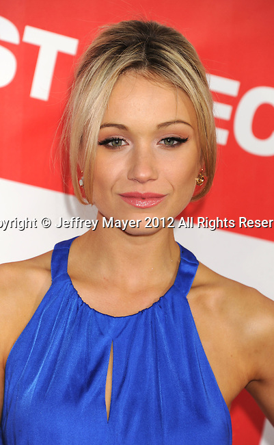 HOLLYWOOD, CA - MARCH 19: Katrina Bowden attends the 'American Reunion' Los Angeles Premiere at Grauman's Chinese Theater on March 19, 2012 in Hollywood, California.