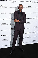 LONDON, UK. October 16, 2019: Eric Underwood arriving for the Esquire Townhouse 2019 launch party, London.<br /> Picture: Steve Vas/Featureflash