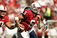 14 October 2006: Trent Edwards during Stanford's 20-7 loss to Arizona during Homecoming at Stanford Stadium in Stanford, CA.