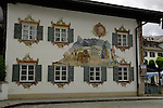Oberamagau, Bavaria.