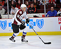 BRANDON YIP,  of the Colorado Avalanche in action  during the Avalanche game against the Chicago Blackhawks at the United Center in Chicago, IL.  The Colorado Avalanche beat the Chicago Blackhawks 4-3 in Chicago, Illinois on December 15, 2010....