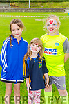 Ava Brosnan, Ellen and Julia Casey having fun at the Spa GAA funday on Saturday