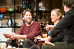 "Andrew Tarbet and Pilar Castro during theater play of ""Los vecinos de arriba"" at Teatro La Latina in Madrid. April 05, 2016. (ALTERPHOTOS/Borja B.Hojas)"