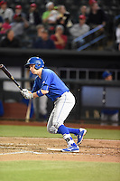 ***Temporary Unedited Reference File***Omaha Storm Chasers shortstop Clint Barmes (12) during a game against the Memphis Redbirds on May 5, 2016 at AutoZone Park in Memphis, Tennessee.  Omaha defeated Memphis 5-3.  (Mike Janes/Four Seam Images)