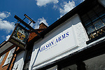 The Nelson Arms pub in Castle Street, Farnham, Surrey