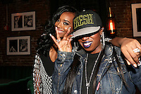NEW YORK, NY - JULY 11, 2016 Yandy Smith & Missy Elliot attaend LiL Kim's private birthday party at the Jue Lan Club July 11, 2016 in New York City. Photo Credit: Walik Goshorn / Mediapunch