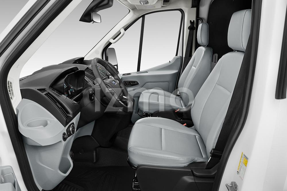 Front seat view of 2019 Ford Transit-Van - 4 Door Cargo Van Front Seat  car photos