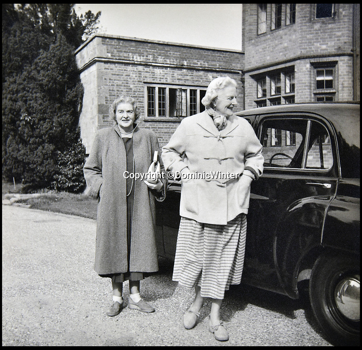 BNPS.co.uk (01202 558833)<br /> Pic:  DominicWinter/BNPS<br /> <br /> Winston Churchill's wife Clementine (on the right).<br /> <br /> Charming photos of Winston Churchill with his grandchildren have emerged for sale - alongside one of his trademark cigars.<br /> <br /> The candid snaps reveal Churchill enjoying the company of his wife Clementine and their grandchildren at Chartwell, their family home.<br /> <br /> They were taken in 1951, at which point he had just been re-installed as Prime Minister after a six year absence.<br /> <br /> The partly-smoked cigar was taken by a naval officer as a memento of the British wartime leader's stay on board HMS Pembroke in 1943.