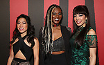 Kay Trinadad, Jewelle Blackman and Yvette Gonzalez-Nacer attends Broadway Opening Night After Party for 'Hadestown' at Guastavino's on April 17, 2019 in New York City.