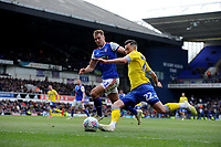 Leeds United's Jack Harrison battles with Ipswich Town's James Bree<br /> <br /> Photographer Hannah Fountain/CameraSport<br /> <br /> The EFL Sky Bet Championship - Ipswich Town v Leeds United - Sunday 5th May 2019 - Portman Road - Ipswich<br /> <br /> World Copyright © 2019 CameraSport. All rights reserved. 43 Linden Ave. Countesthorpe. Leicester. England. LE8 5PG - Tel: +44 (0) 116 277 4147 - admin@camerasport.com - www.camerasport.com