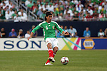 June 08 2008:  Gerardo Torrado (Cruz Azul) (6) of Mexico.  During the third and final match of Mexico's 2008 USA Tour in preparation for qualification for FIFA's 2010 World Cup, the national soccer team of Mexico defeated Peru 4-0 at Soldier Field, in Chicago, IL.