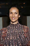 "Indira Varma attends the Broadway Opening Night for the MTC  production of  ""The Height Of The Storm"" at Samuel J. Friedman Theatre on September 24, 2019 in New York City."