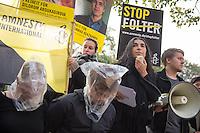 2014/10/21 Berlin | Amnesty gegen Folter in Usbekistan