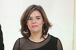 Soraya Saenz de Santamaria at ABC Awards in Madrid, Spain. December 10, 2015. (ALTERPHOTOS/Victor Blanco)
