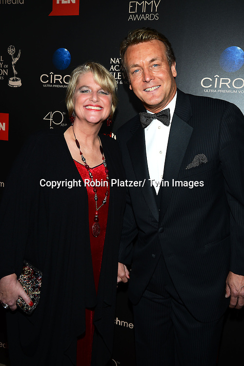 Cindy and Doug Davidson attends The 40th Annual Daytime Emmy Awards on<br />  June 16, 2013 at the Beverly Hilton Hotel in Beverly Hills, California.