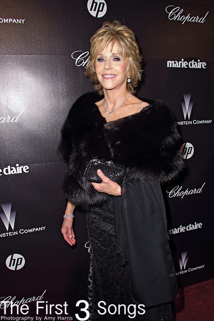 Jane Fonda attends the 2012 Weinstein Company Golden Globes After Party at The Beverly Hilton Hotel in Beverly Hills, CA on January 15, 2012.