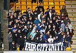 St Johnstone v Inverness Caley Thistle&hellip;09.03.16  SPFL McDiarmid Park, Perth<br />Sainst fans in good voice<br />Picture by Graeme Hart.<br />Copyright Perthshire Picture Agency<br />Tel: 01738 623350  Mobile: 07990 594431
