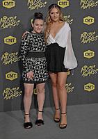 06 June 2018 - Nashville, Tennessee - Lennon Stella, Maisy Stella. 2018 CMT Music Awards held at Bridgestone Arena.  <br /> CAP/ADM/LF<br /> &copy;LF/ADM/Capital Pictures