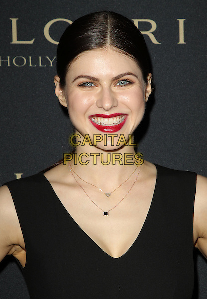 West Hollywood, CA - FEBRUARY 25: Alexandra Daddario Attending BVLGARI Presents &quot;Decades Of Glamour&quot;, Held at Soho House California on February 25, 2014. Photo Credit:Sadou/UPA/MediaPunch<br /> CAP/MPI/SAD/UPA<br /> &copy;Sadou/UPA/MediaPunch/Capital Pictures