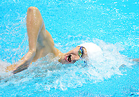 July 28, 2012: Yang Sun of China competes in men's 400m Freestyle final   at the Aquatics Center on day one of 2012 Olympic Games in London, United Kingdom.