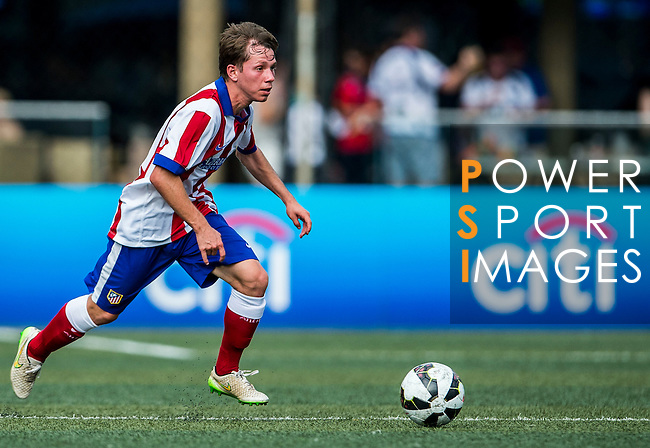 Atletico de Madrid vs Yau Yee League Select during day two of the HKFC Citibank Soccer Sevens 2015 on May 30, 2015 at the Hong Kong Football Club in Hong Kong, China. Photo by Xaume Olleros / Power Sport Images