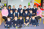 Castledrum NS class of 2015 with their teacher Pauline Griffin (right) and SNA Rachel Sheehan on Wednesday (no name Policy)