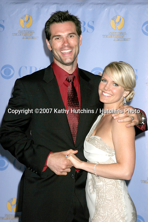 Austin Peck & Terri Colombino .Daytime Emmys 2007.Kodak Theater.Los Angeles, CA.June 15, 2007.©2007 Kathy Hutchins / Hutchins Photo....