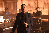 LONDON, ENGLAND - DECEMBER 4: Damon Albarn of 'The Good, the Bad &amp; the Queen performing at EartH' on December 4, 2018 in London, England.<br /> CAP/MAR<br /> &copy;MAR/Capital Pictures