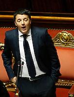 20140224 ROMA-POLITICA: IL GOVERNO RENZI AFFRONTA IL VOTO DI FIDUCIA AL SENATO