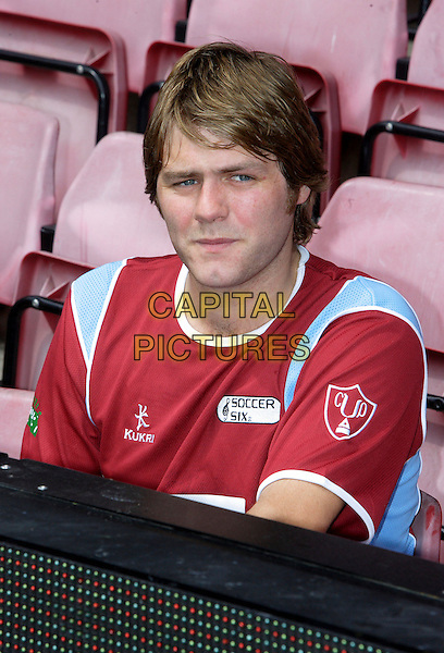 Brian McFADDEN <br /> The Music Industry Soccer Six tournament held at West Ham United Football Club, Upton Park, London, England. <br /> May 20th 2007<br /> football footie sport headshot portrait Brian uniform <br /> CAP/ROS<br /> &copy;Steve Ross/Capital Pictures
