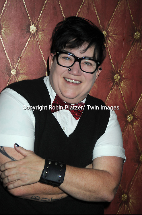 Lea DeLaria  attends the Daytime Stars and Strike Charity Event benefitting The American Cancer Society on October 7, 2012 at Bowlmor Lanes in Times Square in New York City.