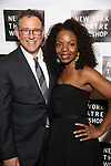 Michael Greif and Marsha Stephanie Blake attends New York Theatre Workshop's 2017 Spring Gala at the Edison Ballroom on May 15, 2017 in New York City.