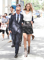 NEW YORK, NY - SEPTEMBER 9:  Gigi Hadid and Tommy Hilfiger seenin New York, New York on September 9, 2016.  Photo Credit: Rainmaker Photo/MediaPunch
