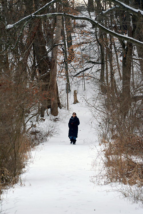 seen in Esopus Bend Natue Preserve in Saugerties, NY, Thursday, February 8, 2018. Photo by Jim Peppler. Copyright/Jim Peppler/2018.