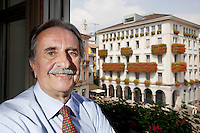Switzerland. Canton Ticino. Lugano. Giorgio Giudici.  Giorgio Giudici (born 29 May 1945) is a Swiss architect and politician. He was mayor of Lugano from 1984 to 2013. His political party is the Partito liberale radicale svizzero (PLR). 5.09.13 © 2013  Didier Ruef