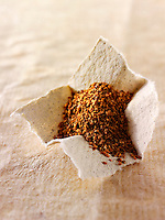 Ground nutmeg powder