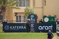 Phil Mickelson (USA) on the 8th during Round 3 of the Saudi International at the Royal Greens Golf and Country Club, King Abdullah Economic City, Saudi Arabia. 01/02/2020<br /> Picture: Golffile | Thos Caffrey<br /> <br /> <br /> All photo usage must carry mandatory copyright credit (© Golffile | Thos Caffrey)