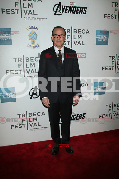 April 28, 2012 Clark Gregg attends the Closing  Night of the 2012 Tribeca Film Festival with Marvel' the Avengers at BMCC Tribeca Pac in New York City..Credit:RWMediapunchinc.com