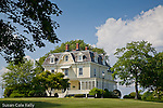 Eisenhower House, the summer white house 1958 - 1960, in Newport, Narragansett Bay, RI, USA (owned by the state of Rhode Island)