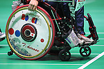 General view, <br /> SEPTEMBER 15, 2016 - Boccia : <br /> Individual BC2 Quarter final match between Watcharaphon Vongsa 6-1 Takayuki Hirose <br /> at Carioca Arena 2<br /> during the Rio 2016 Paralympic Games in Rio de Janeiro, Brazil.<br /> (Photo by AFLO SPORT)