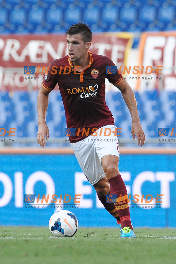 Kevin Strootman Roma<br /> Roma 1-09-2013 Stadio Olimpico<br /> Football Calcio 2013/2014 Serie A<br /> Roma vs Hellas Verona 3-0<br /> Foto Antonietta Baldassarre Insidefoto