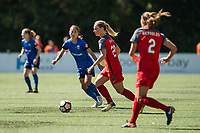 Seattle, WA - Saturday, August 26th, 2017: Amandine Henry during a regular season National Women's Soccer League (NWSL) match between the Seattle Reign FC and the Portland Thorns FC at Memorial Stadium.