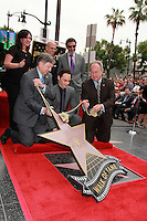 Jeffrey Katzenberg, Jim Parsons, Chuck Lorre<br />