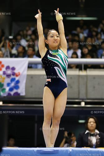 Asuka Teramoto (JPN), <br /> June 30, 2013 - Artistic Gymnastics : <br /> The 67th All Japan Artistic Gymnastics Apparatus Championship, Women's Vault Final <br /> at Tokyo Metropolitan Gymnasium, Tokyo, Japan. <br /> (Photo by Daiju Kitamura/AFLO SPORT)
