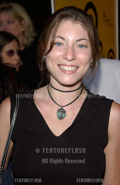 Actress PHE CAPLAN at the premiere of The Good Girl, the closing night movie of the 2002 IFP/West-Los Angeles Film Festival..29JUN2002.  © Paul Smith / Featureflash